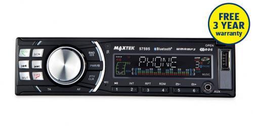 maxtek bluetooth car stereo aldi 3 year warranty. Black Bedroom Furniture Sets. Home Design Ideas