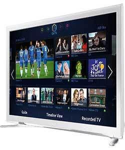 samsung ue32f4510 32in hd ready smart led tv white 233. Black Bedroom Furniture Sets. Home Design Ideas