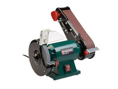 Bench Grinder With Belt Sander Lidl 163 29 99 Hotukdeals