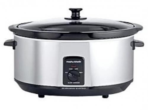 morphy richards 6 5 ltr slow cooker reduced to 23. Black Bedroom Furniture Sets. Home Design Ideas