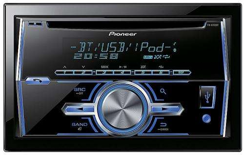 Pioneer fh x700bt double din car stereo inc built in parrot pioneer fh x700bt double din car stereo inc built in parrot halfords 11490 hotukdeals publicscrutiny Image collections