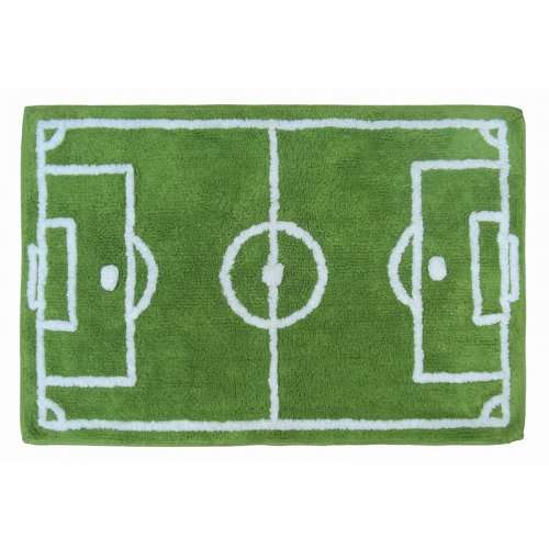 Asda Football Pitch Rug Was £9 Now £3 Instore