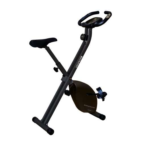Half price golds gym folding exercise bike just £ free