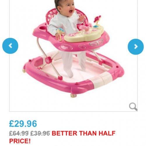Toys Are Us Hello Kitty : Hello kitty baby walker £ toys r us hotukdeals