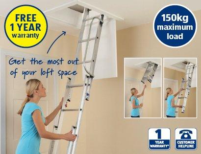 Aldi Loft Ladder £49 99 - hotukdeals