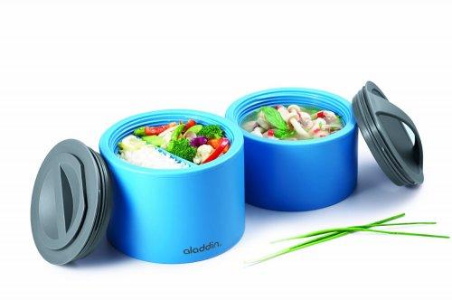aladdin litre bento lunchbox blue only amazon hotukdeals. Black Bedroom Furniture Sets. Home Design Ideas