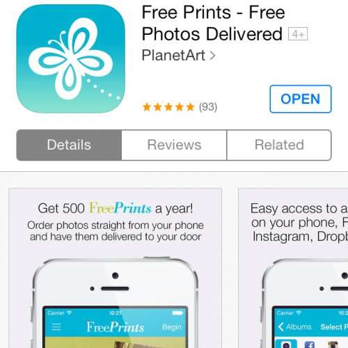 free prints app delivery 2 96 hotukdeals