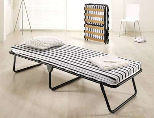 jay be evo folding guest bed click n collect home bargains hotukdeals. Black Bedroom Furniture Sets. Home Design Ideas