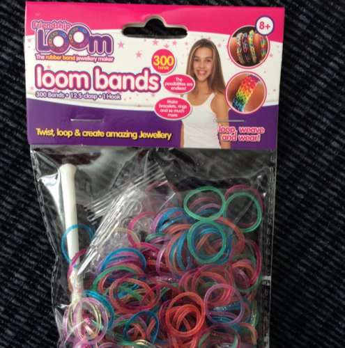 Insane Bands: Crazy Loom Bands £1