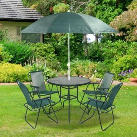 6pc garden furniture set poundstretcher hotukdeals for Garden furniture deals