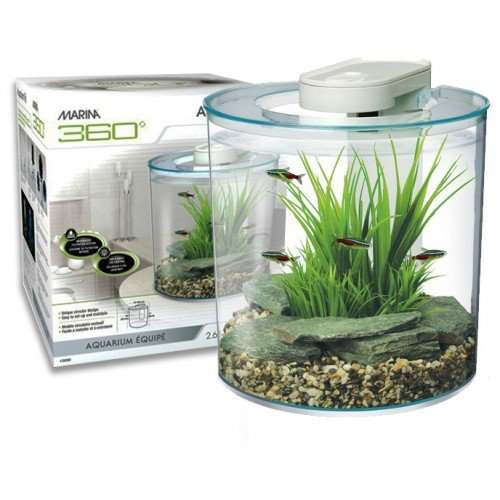Marina 360 fish tank inc pump led light filter was 45 for Fish tank deals