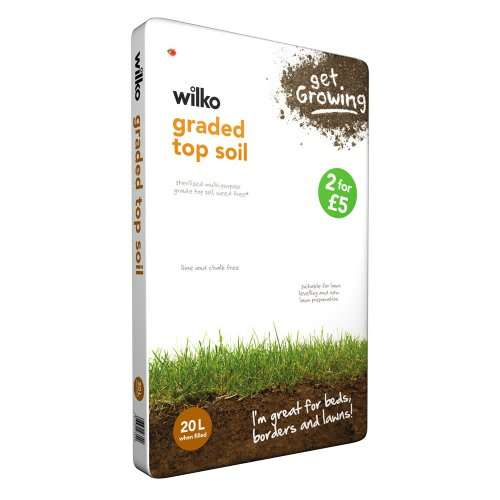 Wilkinson top soil 40 litres for 5 hotukdeals for Garden soil deals