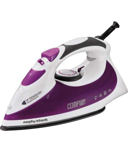 morphy richards 40754 comfigrip steam iron from. Black Bedroom Furniture Sets. Home Design Ideas