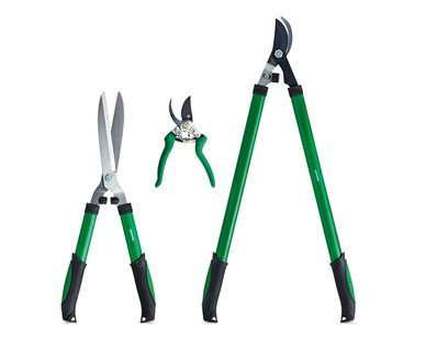 Aldi 3 piece garden hedge shears pruning shears and for Aldi gardening tools 2016