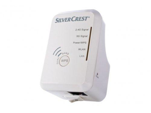 silvercrest dual band wifi range extender lidl. Black Bedroom Furniture Sets. Home Design Ideas