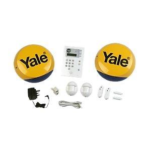 yale hsa6400 wireless 4 room alarm kit now. Black Bedroom Furniture Sets. Home Design Ideas
