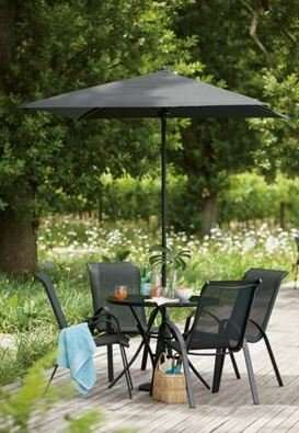 Andorra 4 Seater Garden Furniture Set Home Delivery Only 163
