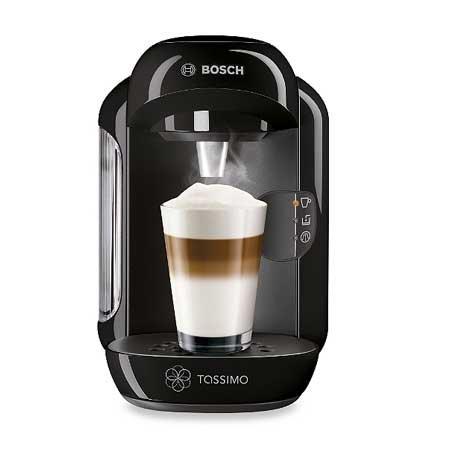 tassimo by bosch t12 vivy coffee machine black 1 2 price. Black Bedroom Furniture Sets. Home Design Ideas