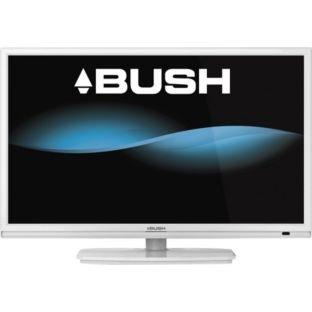 bush 28 inch hd ready led tv dvd combi white. Black Bedroom Furniture Sets. Home Design Ideas