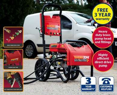 aldi workzone petrol power jet washer hotukdeals. Black Bedroom Furniture Sets. Home Design Ideas