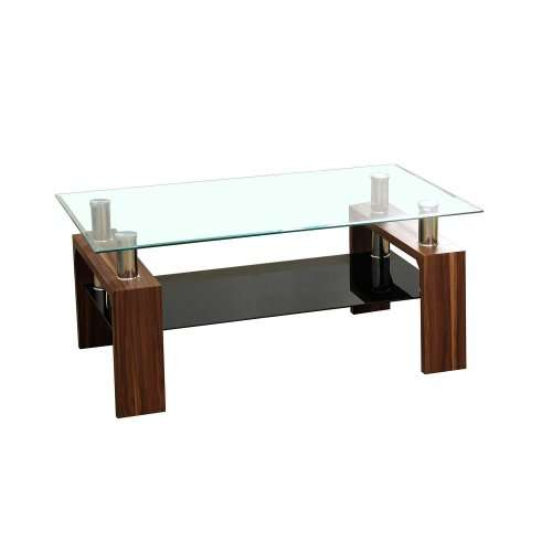 Daytona Coffee Table (Walnut, Black, Oak) £39.99