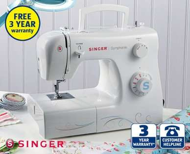 Singer Sewing Machine Only £4040 At Aldi Hotukdeals Inspiration Aldi Sewing Machine 2016