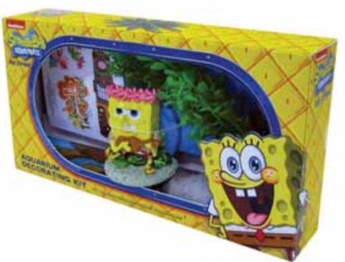 Spongebob fish tank decoration kit 5 at petsathome for Fish tank deals