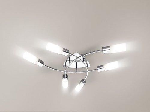 thurs 8th oct livarno lux led ceiling light with remote control lidl hotukdeals. Black Bedroom Furniture Sets. Home Design Ideas