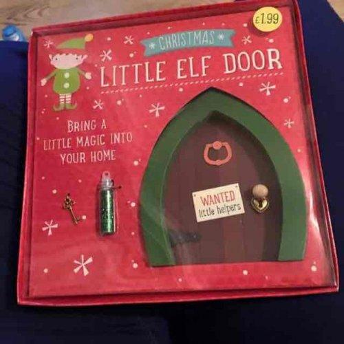 Little elf door instore card factory hotukdeals for Elf door and elf