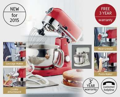 aldi premium stand mixer available from thursday. Black Bedroom Furniture Sets. Home Design Ideas
