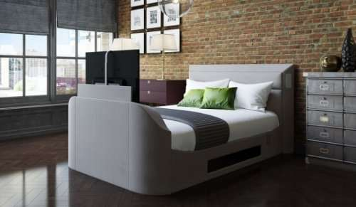 Medford Automatic Tv Bed With Free 40 Quot Hd Led Tv 163 1339