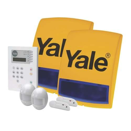 yale premium wireless alarm kit screwfix. Black Bedroom Furniture Sets. Home Design Ideas