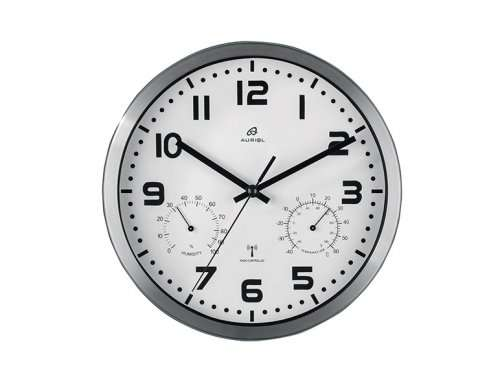 a4ba5a88ff5 Auriol Radio-Controlled Wall Clock £8.99 Lidl - hotukdeals
