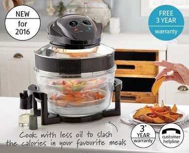 aldi 2 in 1 air fryer aldi from 7th jan. Black Bedroom Furniture Sets. Home Design Ideas