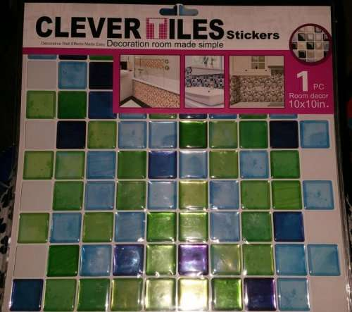 Clever Tiles 10 Inch X 10 Inch 1 Piece Various Colours
