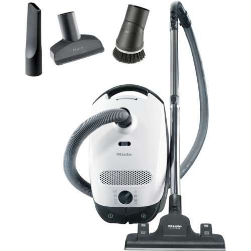 miele classic c1 ecoline bagged cylinder vacuum cleaner. Black Bedroom Furniture Sets. Home Design Ideas
