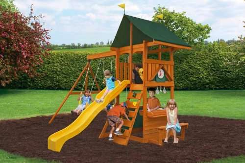 Kids climbing frame with slide and swings for £299 and free delivery ...
