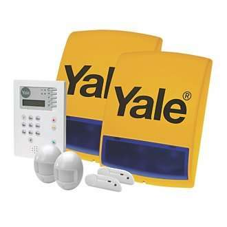 yale wireless alarm kit hsa6400 screwfix. Black Bedroom Furniture Sets. Home Design Ideas