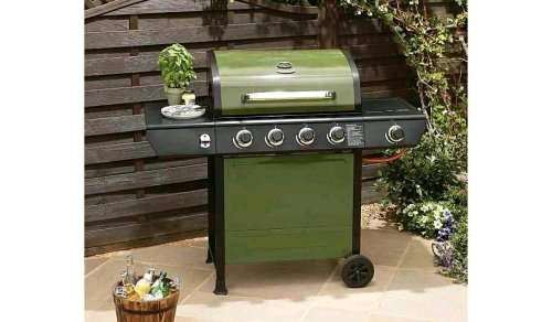 uniflame 4 burner bbq with side ring asda hotukdeals. Black Bedroom Furniture Sets. Home Design Ideas