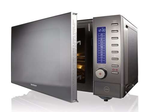 Lidl Stainless Steel Combination Microwave 163 79 99