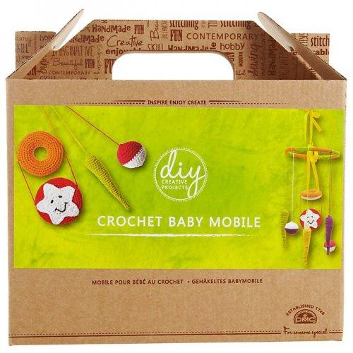 Dmc creative crochet baby mobile craft kit multi was £