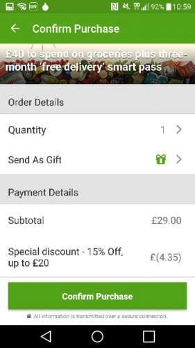 Ocado coupons for existing customers