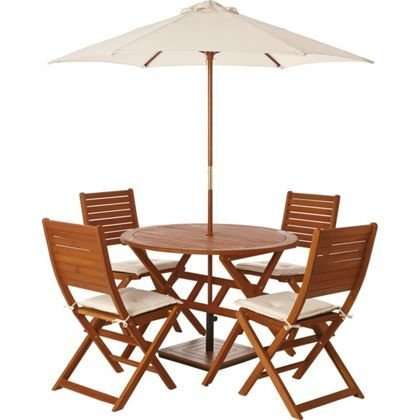 garden table and chairs set for four peru 75. Black Bedroom Furniture Sets. Home Design Ideas
