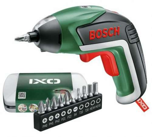 bosch ixo v cordless screwdriver 3 6v 1 2 price was argos free c c hotukdeals. Black Bedroom Furniture Sets. Home Design Ideas