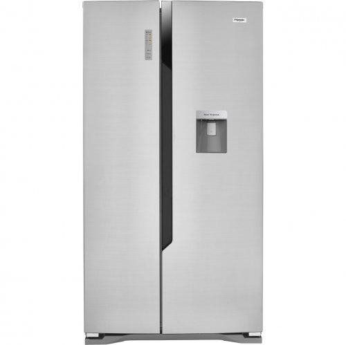 fridgemaster ms91515dff american fridge freezer silver. Black Bedroom Furniture Sets. Home Design Ideas