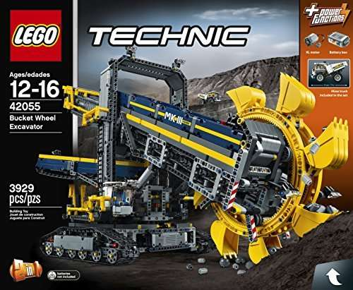lego technic bucket wheel excavator 42055 rrp this. Black Bedroom Furniture Sets. Home Design Ideas