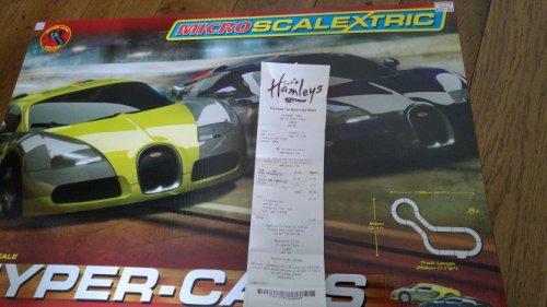 1:64 Micro Scalextric Hyper-cars £20 @ Hamleys - HotUKDeals