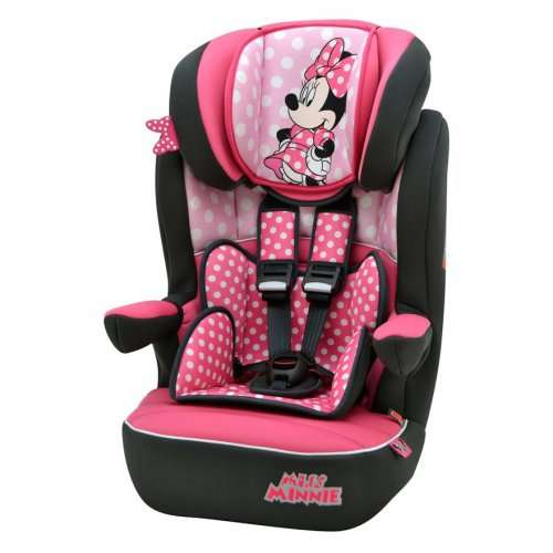 Minnie And Mickey Mouse Group 1 2 3 Car Seat Half Price 163