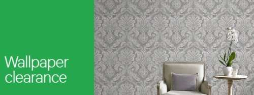 Wallpaper Clearance From 3 54 A Roll And Borders From 2 43