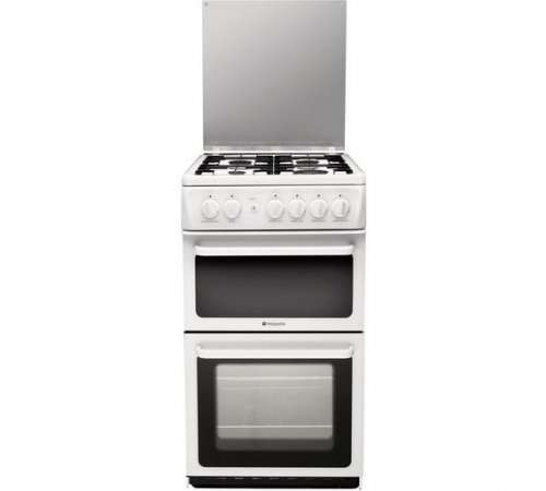 hotpoint hagl51p twin gas cooker white argos. Black Bedroom Furniture Sets. Home Design Ideas